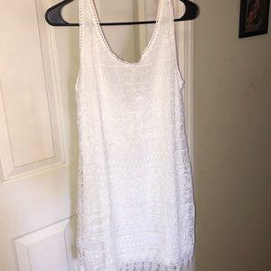 🆕H&M white dress, super cute, NWT!